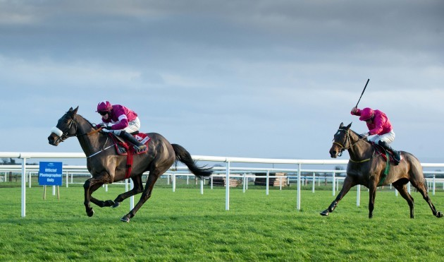 Bryan Cooper onboard No More Heroes holds off Sean Flanagan onboard Monksland to win