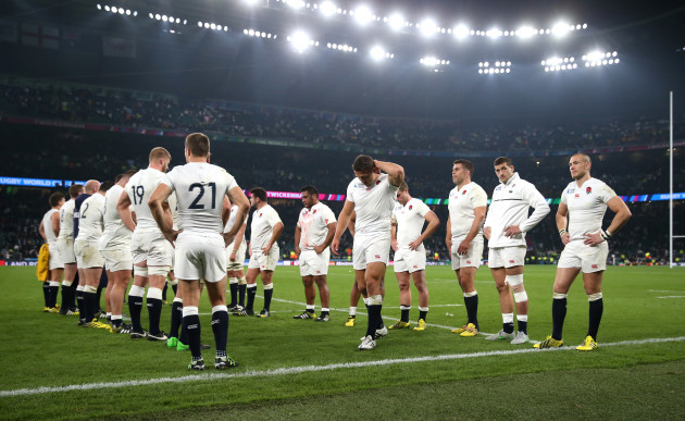 Rugby Union - England World Cup File photo