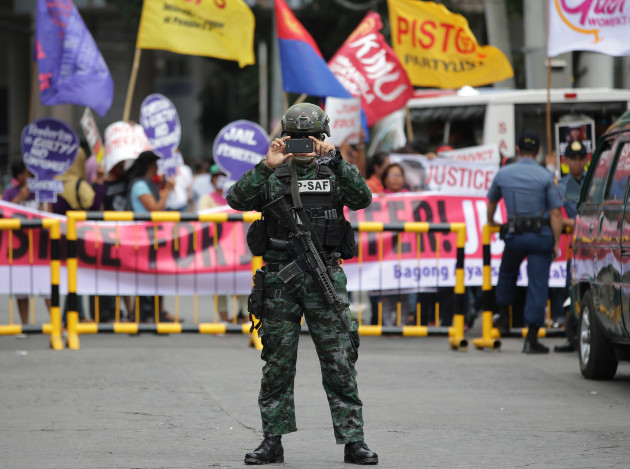 Philippines US Killing