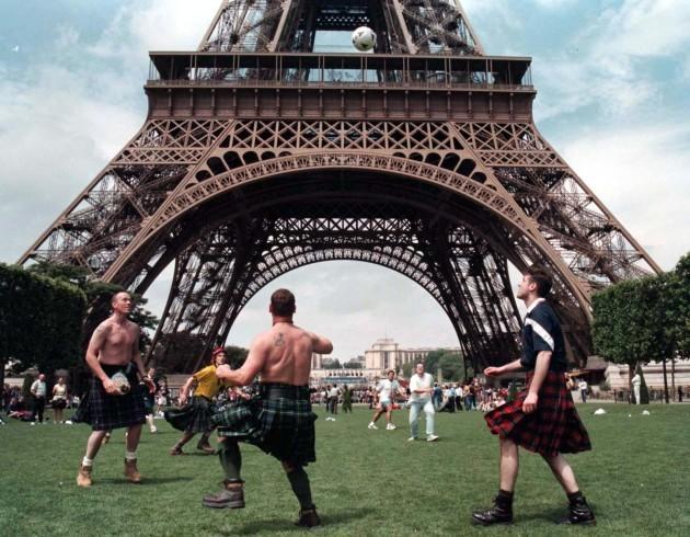 SOCCER Scotland fans