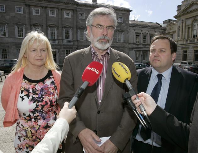 5/6/2014 Sinn Fein Dail Scenes