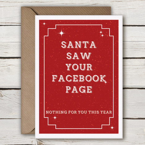 CX05-funny-Irish-christmas-card-santa-saw-your-facebook-page