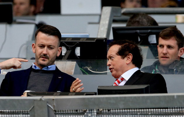 Donal îg Cusack and Marty Morrissey