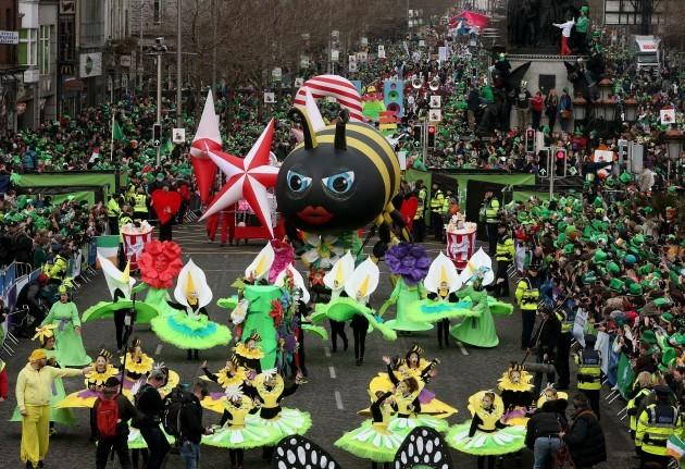 St Patrick's day celebrations 2015