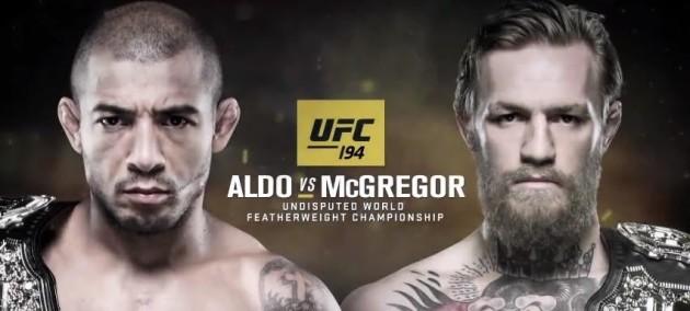 McGregor Aldo UFC 194