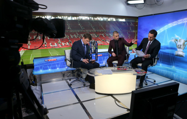 Soccer - Capital One Cup - Semi Final - Second Leg - Manchester United v Sunderland - Behind the Scenes with Sky Sports - Old Trafford