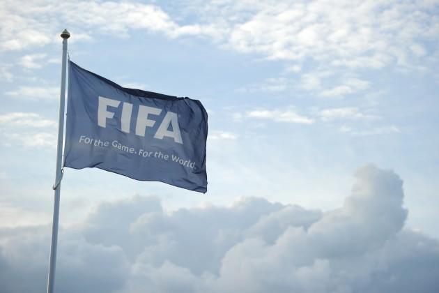 Soccer - FIFA Flag
