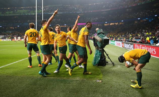 Rugby Union - Rugby World Cup 2015 - Pool A - England v Australia - Twickenham