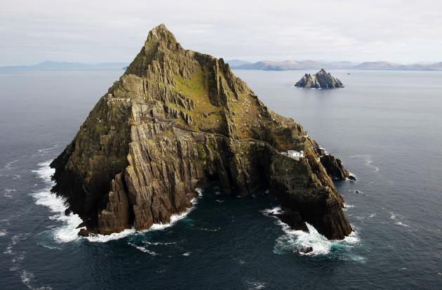 Skellig Michael renovation work