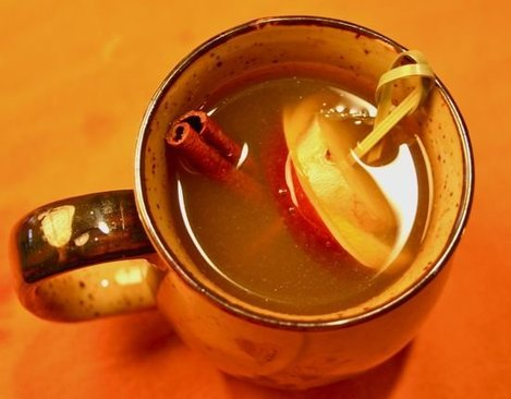 Recipe for Warmth: Hot Apple-Ginger Toddy - Straight Up Cocktails and Spirits