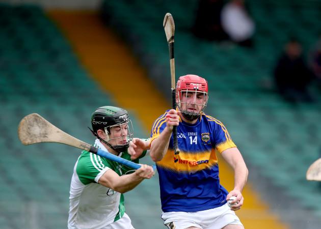David McCarthy is beaten by Colin O'Riordan