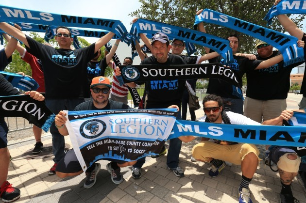 Soccer - Miami Beckham United Proposed Venue - Miami