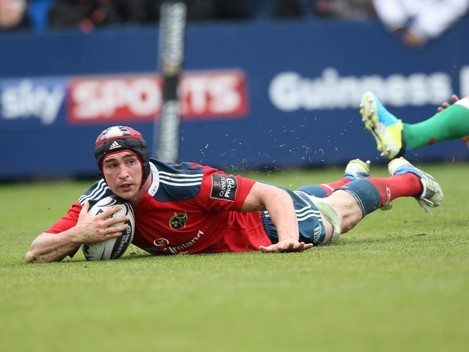 Tommy OÕDonnell scores a try