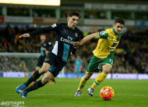 Norwich City v Arsenal - Barclays Premier League - Carrow Road