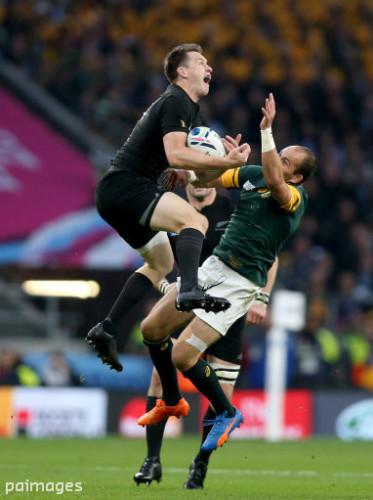 Rugby Union - Rugby World Cup 2015 - Semi Final - South Africa v New Zealand - Twickenham Stadium
