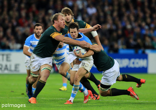 Rugby Union - Rugby World Cup 2015 - Bronze Medal Match - South Africa v Argentina - Olympic Stadium