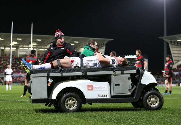 Iain Henderson goes off injured