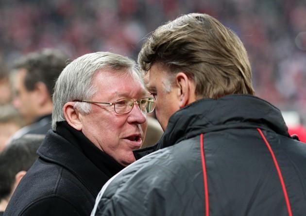Soccer - UEFA Champions League - Quarter Final - First Leg - Bayern Munich v Manchester United - Allianz Arena