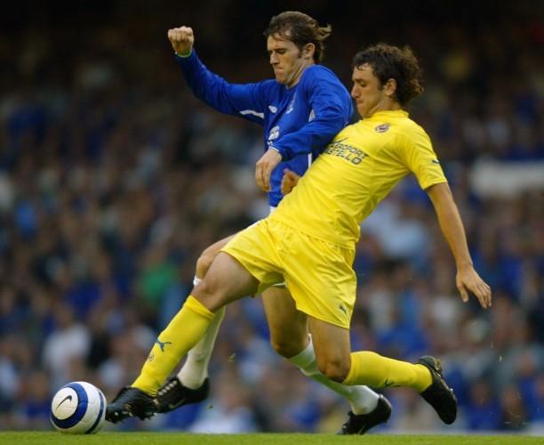 Soccer - UEFA Champions League - Third Qualifying Round - First Leg - Everton v Villarreal - Goodison Park