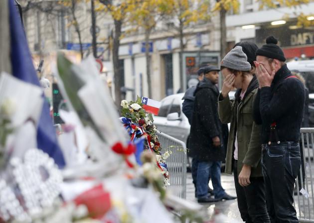 France Paris Attacks Band