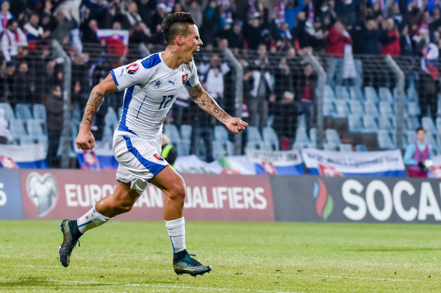 Luxembourg Slovakia Euro Soccer