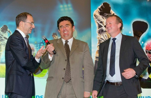 Martin O'Neill and Michael O'Neill are interviewed MC Des Cahill