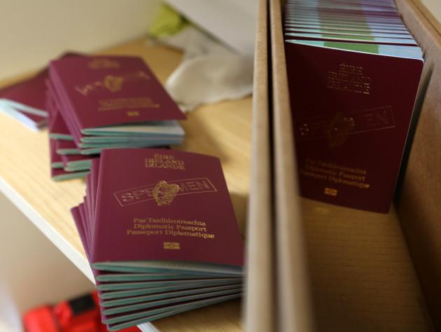 30/9/2013. Newly Designed Irish Passports