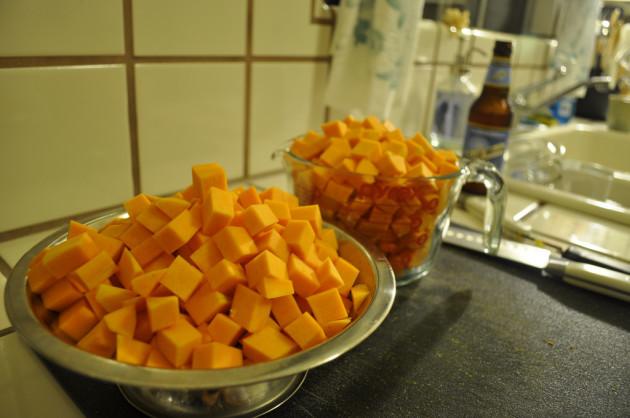 Cubed Squash