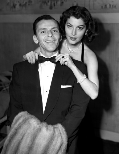 Frank Sinatra and his wife