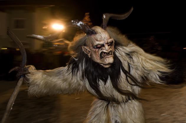 The Story Behind Krampus Santas Terrifying Demonic Helper