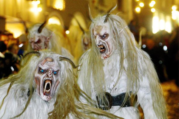 The story behind Krampus - Santa's terrifying demonic helper