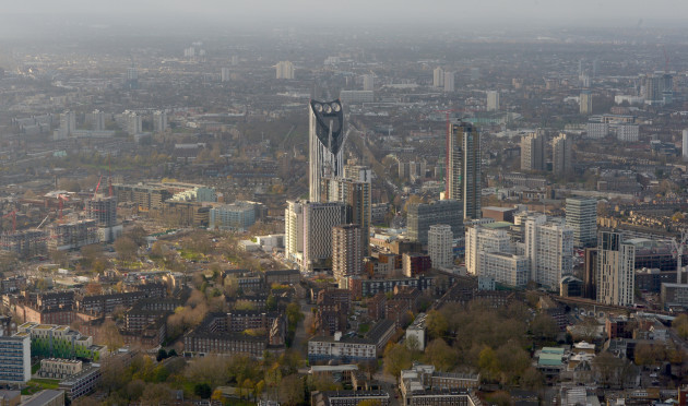 City Views from The Shard - London