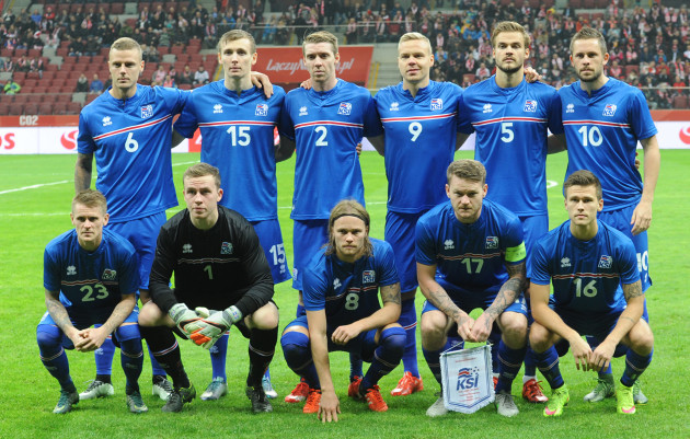 Poland Iceland Soccer