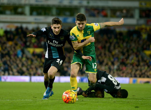 Norwich City v Arsenal - Barclays Premier League - Carrow Road