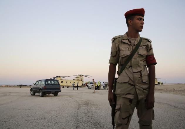 Mideast Egypt Russian Plane