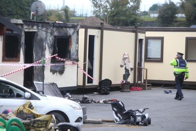 10/10/2015. Fires at Halting Sites Tragedies