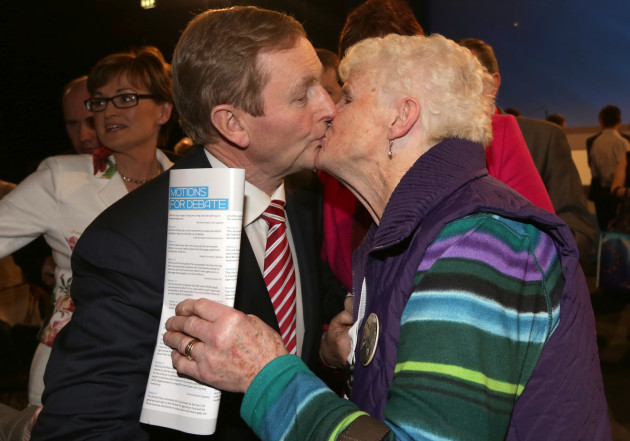 1/3/2014. Fine Gael Ard Fheis