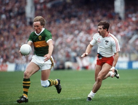 Pat Spillane and Kevin McCabe 1986