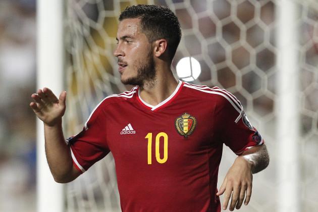 Cyprus Belgium Euro Soccer
