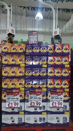 You know its Christmas When the Easter Eggs ...