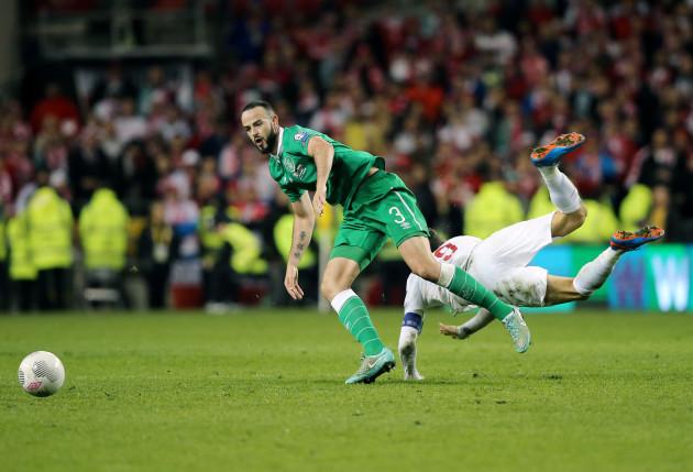 Soccer - UEFA Euro 2016 - Qualifying - Group D - Republic of Ireland v Poland - Aviva Stadium