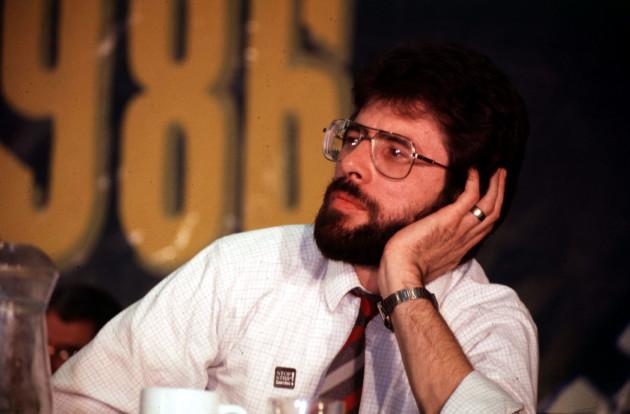 Gerry Adams Sinn Fein Ard Fheis 1986