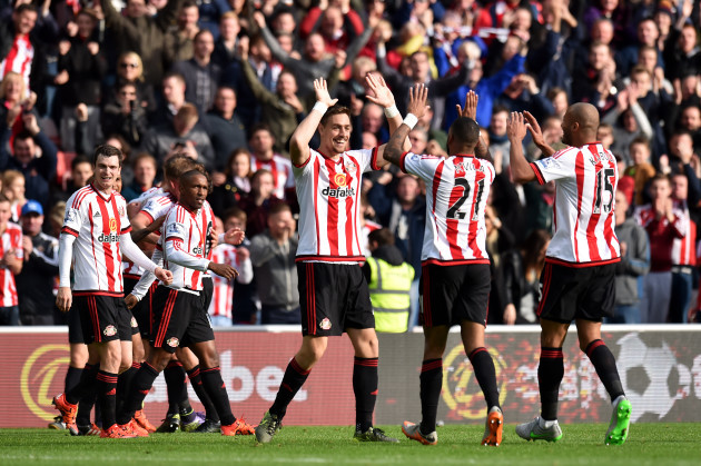 Soccer - Barclays Premier League - Sunderland v Newcastle United - Stadium of Light