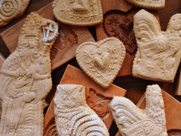 belgium-speculaas-is-a-thin-crunchy-cookie-typically-eaten-before-st-nicholas-feast-in-the-netherlands-the-cookies-are-created-using-intricate-wood-molds-and-are-similar-in-taste-to-gingerbread-cookies-except-that-they