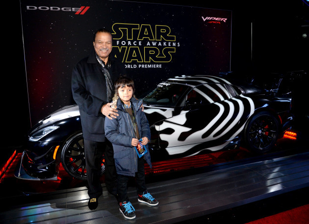 Star Wars: The Force Awakens Hollywood Premiere Sponsored By Dodge