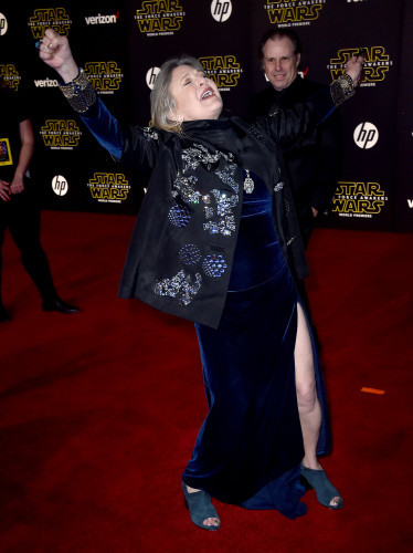 World Premiere of Star Wars: The Force Awakens - Arrivals