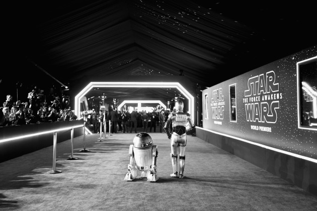 Premiere Of Star Wars: The Force Awakens - Red Carpet