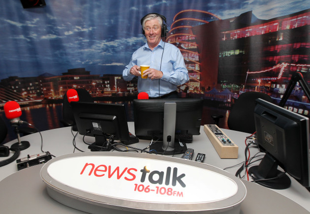 2/8/2013. Pat Kenny First Day at Newstalk
