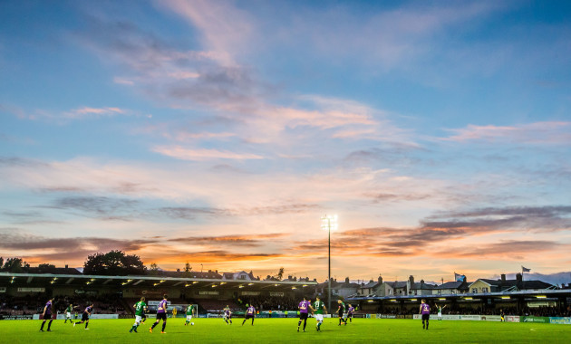 A View of the Sunsetting at Turners Cross