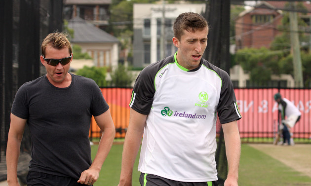 Brett Lee and Peter Chase